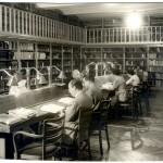Sala de lectura en C/ Alcalá, 34
