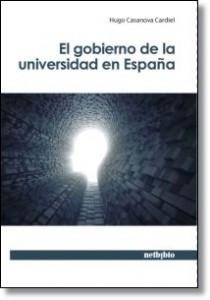 El gobierno de la universidad en España