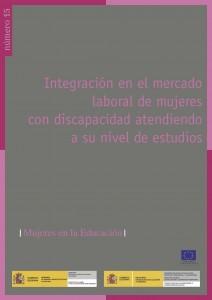 Integracion en el mercado laboral de mujeres con discapacidad