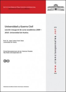Universidad y Guerra Civil