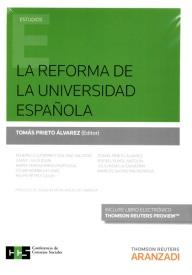 La reforma de la universidad española