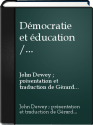 Democratie et education