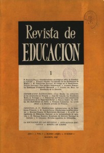 Revista de educacion n. 1