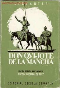 Don Quijote de la Mancha Escuela Española