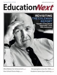 Revisiting the Coleman report Education Next