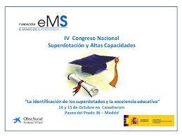 IV Congreso Nacional Superdotacion