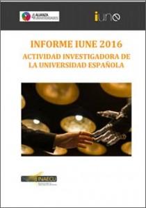 Informe IUNE 2016