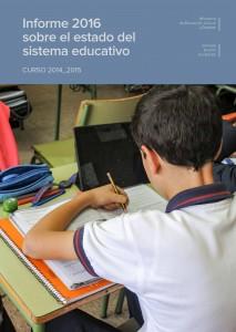 Informe 2016 sistema educativo