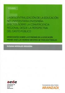 Descentralización de la educación no universitaria en España