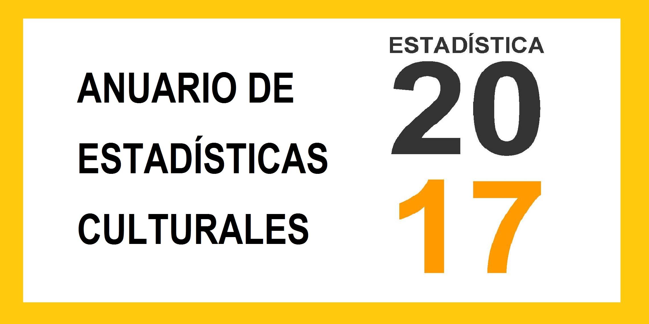 Anuario de estadisticas culturales 2017 banner