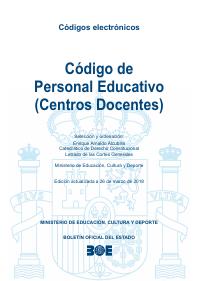 Código de personal educativo