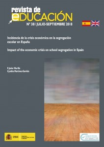 Incidencia de la crisis económica en la segregación escolar en España