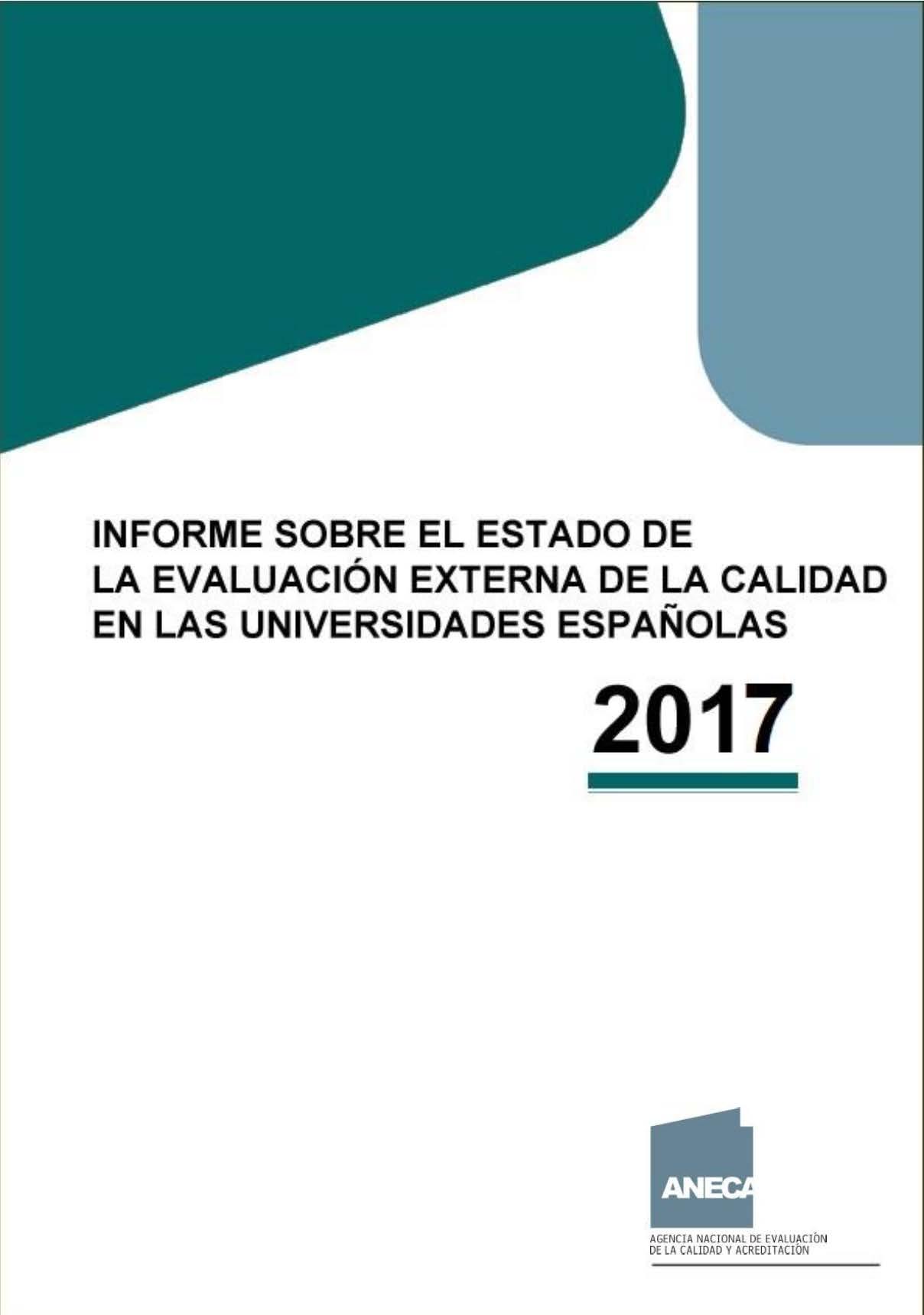 Informe ANECA 2017