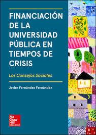 Financiación de la universidad pública en tiempos de crisis