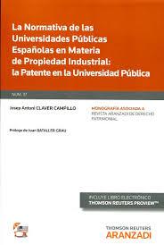 La normativa de las universidades públicas españolas en materia de propiedad industrial