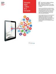 Educacion digital y cultura de la innovacion
