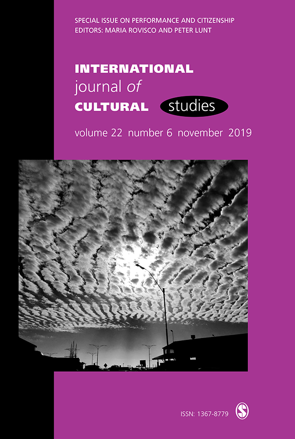 international journal of cultural studies