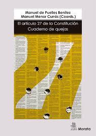 El aríiculo 27 de la Constitución