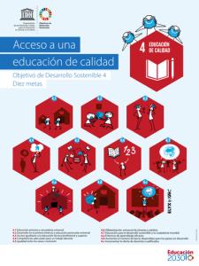Acceso a una educación de calidad