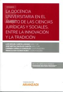 La docencia universitaria en el ámbito de las ciencias jurídicas y sociales