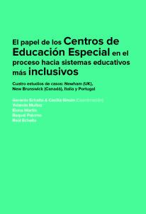 El papel de los Centros de Educación Especial