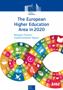 The European higher education area in 2020
