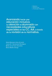Avanzando hacia una educación inclusiva