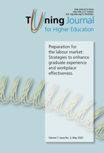Tuning journal for higher educacion